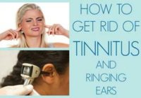 get rid of tinnitus