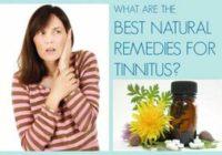 natural tinnitus remedies